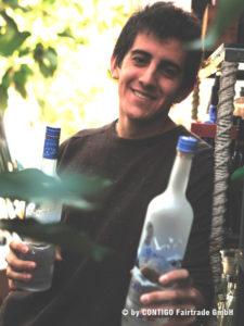 Oscar Muñoz, Gründer von BottleGlass