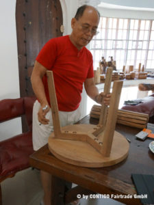 Rick - Gründer der Holzwerkstatt