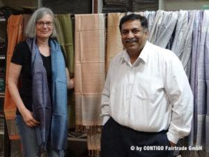 Monika Herbst and Khitish Pandya